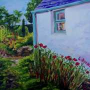 Audrey's Poppies, Gobbins Stables, Islandmagee, County Antrim