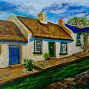 Denmark Cottage,Ballyharry,(childhood home of Valerie Stewart,nee Clugston)