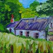 Deserted Cottage at Ballytober Townland Islandmagee County Antrim