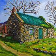 Farm Cottage in the Townland of Loughloughlan,Broughshane,County Antrim