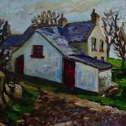 Farm on Muldersleigh Hill, McCrae's Brae, Islandmagee, County Antrim