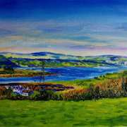 Larne Lough from Knowehead,Kilcoan