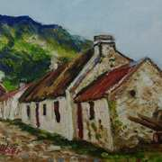Mountain Cottage,Carnlough,County Antrim,(ref photo WA Green Collection,NMNI)