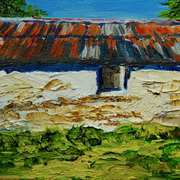 Old Barn on the Ballytober Road,Islandmagee,County Antrim
