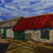 Old Farm Buildings near Portaferry,Ards Peninsula,County Down
