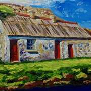 Old Farm on the Glen Road,Glenariff,County Antrim