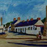 Old Glynn,(painted from a vintage postcard)