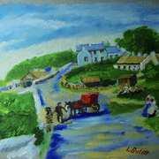 Old Millbay, Islandmagee, from a vintage postcard