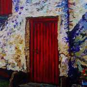Red Barn Door,Carnduff Townland,Larne,County Antrim