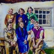 War Time Salad Days,at Denmark Cottages,Ballyharry,Islandmagee,County Antrim