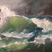 Torquoise Splash (after Uzgakov)
