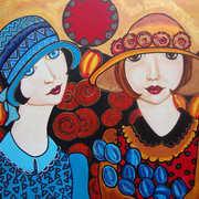 Ladies Day From series of vintage artwork