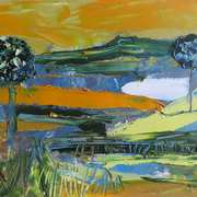 Landscape With Yellow Sky