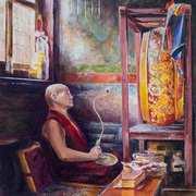 Chanting Monk