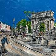 Fusiliers Arch,St Stephens Green Dublin,Acrylic