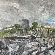 Joyce,s Martello Tower,Sandycove,Co Dublin,Acrylic