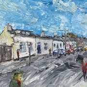 Magenta Terrace,Glasthule,co Dublin,Acrylic