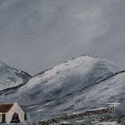 Snow in Le Nann