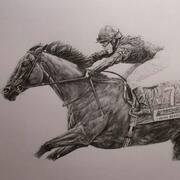 Irish Art, Kieren Fallon and Dylan Thomas,