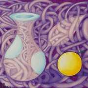 Vase and Lemon,Mood