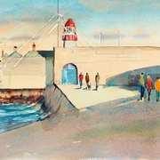 East Pier Evening Sunshine