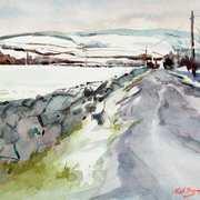 Icy Road Ballybetagh Co. Dublin