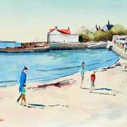 'Sandycove in Summer with Family'