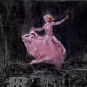 Natasha Is Flying On A Pig, The Master and Margarita by N.Bulgakov