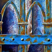 Rusty Blue Verona Italy