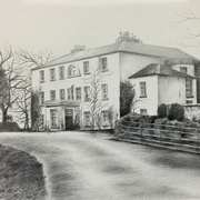 Coole House, home of Lady Gregory. From a photo archiseek.com