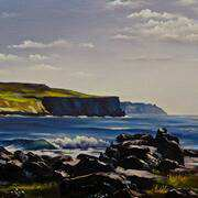 The Cliffs of Moher from Doolin