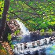 Bulgarian Waterfall
