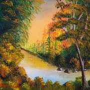 Sunlight on River