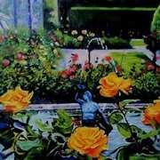 Powerscourt Rose Garden