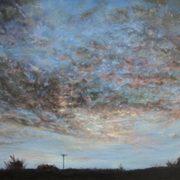Evening Sky over Monbay,Gorey