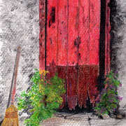 Granny's Red Door