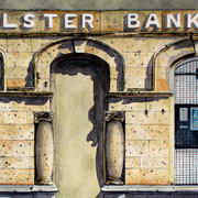Bank (with bullet holes)