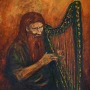 The Dagda (and his harp)