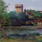 San Niccolo Tower along the Arno