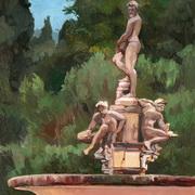 The Isolotto - The Ocean,in the Boboli Gardens